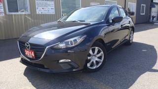Used 2014 Mazda MAZDA3 GX-SKY--OFF LEASE MAZDA CREDIT-LOADED-HATCHBACK for sale in Tilbury, ON
