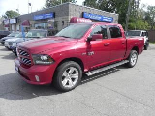 Used 2014 RAM 1500 Sport * HEMI * LEATHER * NAV * SUNROOF for sale in Windsor, ON