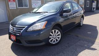 Used 2013 Nissan Sentra S-1 OWNER OFF LEASE-LOADED-BLUETOOTH for sale in Tilbury, ON
