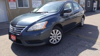Used 2013 Nissan Sentra S-LOADED-BLUETOOTH for sale in Tilbury, ON