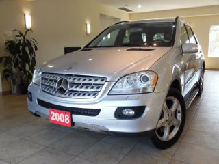 Used 2008 Mercedes-Benz ML-Class ML550 4MATIC for sale in Toronto, ON