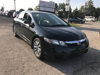 Used 2010 Honda Civic EX-L for sale in Komoka, ON