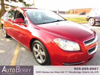 Used 2012 Chevrolet Malibu 1LT - 2.4L for sale in Woodbridge, ON