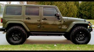 Used 2016 Jeep Wrangler Sahara Unlimited for sale in North York, ON