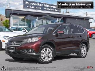 Used 2012 Honda CR-V EX AWD ECO |CAMERA|ROOF|PHONE|1OWNER|NEW TIRES for sale in Scarborough, ON