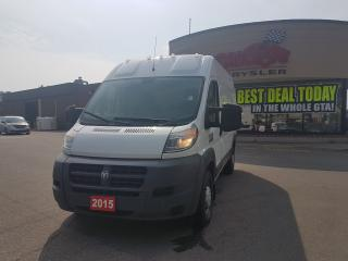 Used 2015 RAM Cargo Van PROMASTER 2500 HIGH ROOF 136 WB for sale in Scarborough, ON