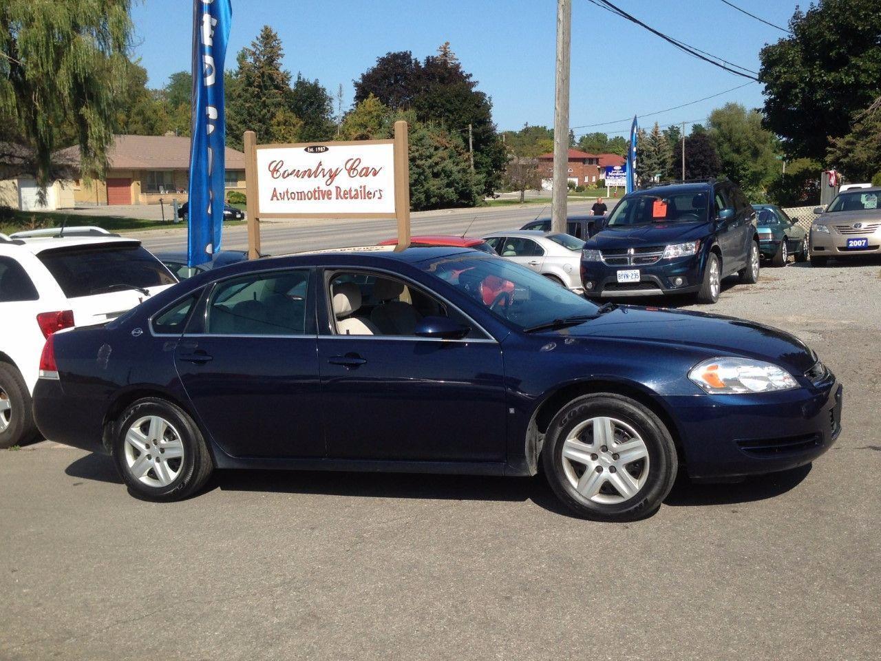 Photo of Blue 2008 Chevrolet Impala