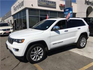 Used 2017 Jeep Grand Cherokee Limited.Navi/Sunroof/20 Wheels for sale in Burlington, ON