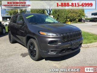 Used 2017 Jeep Cherokee Limited for sale in Richmond, BC