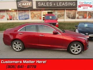 Used 2014 Cadillac ATS 2.0 Turbo  AWD, ROOF, CUE, BOSE, HEATED LEATHER SEATS for sale in St Catharines, ON