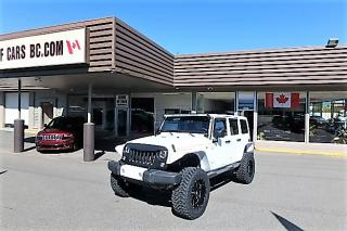 Used 2016 Jeep Wrangler X Unlimited Sahara LIFTED for sale in Langley, BC