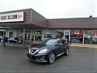 Used 2017 Nissan Murano SL AWD for sale in Langley, BC