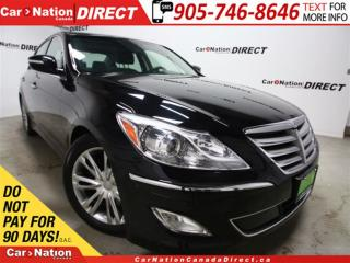 Used 2012 Hyundai Genesis 3.8 Premium| LOW KM'S| LEATHER| SUNROOF| for sale in Burlington, ON