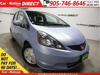 Used 2009 Honda Fit LX| LOW KM'S| ONE PRICE INTEGRITY| for sale in Burlington, ON