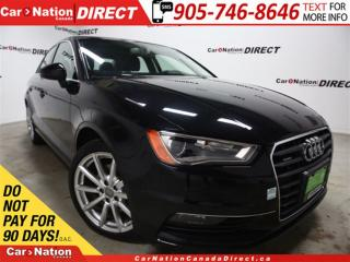 Used 2015 Audi A3 2.0T Progressiv| AWD| LEATHER| SUNROOF| for sale in Burlington, ON