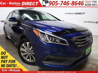 Used 2015 Hyundai Sonata GLS| LEATHER-TRIMMED SEATS| PANO ROOF| for sale in Burlington, ON