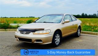 Used 2002 Honda Accord Cpe SE for sale in Stony Plain, AB