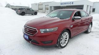 Used 2016 Ford Taurus Limited AWD 3.5L 285Hp Leather, Moon, Navi for sale in Stratford, ON