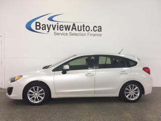 Used 2013 Subaru Impreza PREMIUM - 5 SPD! ALLOYS! BLUETOOTH! PWR GROUP! A/C for sale in Belleville, ON