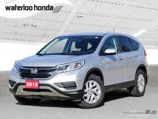 Used 2015 Honda CR-V SE Back Up Camera, AWD, Heated Seats and more! for sale in Waterloo, ON