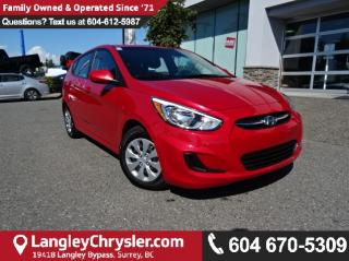 Used 2016 Hyundai Accent SE *ACCIDENT FREE * DEALER INSPECTED * CERTIFIED * for sale in Surrey, BC