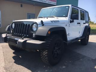 Used 2017 Jeep Wrangler Unlimited Sport $267.64 BI WEEKLY! $0 DOWN! for sale in Bolton, ON