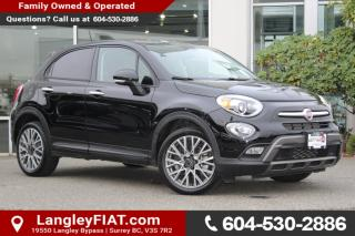 Used 2016 Fiat 500X Trekking NO ACCIDENTS, B.C OWNED for sale in Surrey, BC