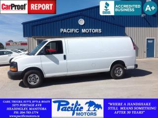 Used 2012 GMC Savana 2500 CARGO*FINANCING AVAILABLE*LEASING AVAILABLE* for sale in Headingley, MB
