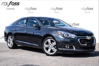 Used 2015 Chevrolet Malibu LTZ Sunroof Leather Rear Cam Blind Zone for sale in Thornhill, ON