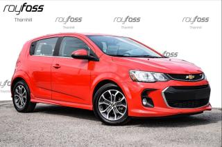 Used 2017 Chevrolet Sonic LT Sunroof True North Pkg for sale in Thornhill, ON