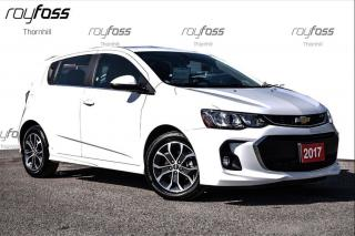 Used 2017 Chevrolet Sonic LT RS Sunroof Remote start for sale in Thornhill, ON