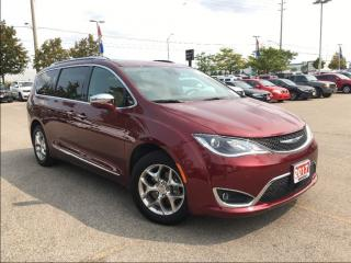 Used 2017 Chrysler Pacifica LIMITED**ADAPTIVE CRUISE CONTROL** for sale in Mississauga, ON