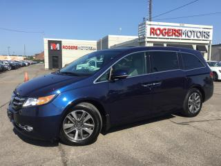 Used 2014 Honda Odyssey Touring | NAVI | DVD | BLIND SPOT | 8 PASS for sale in Oakville, ON