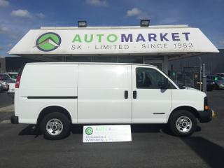 Used 2003 GMC Savana 2500 Cargo FINANCE FOR ALL CREDIT! for sale in Langley, BC
