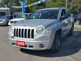 Used 2009 Jeep Compass 4x4..certified for sale in Oshawa, ON