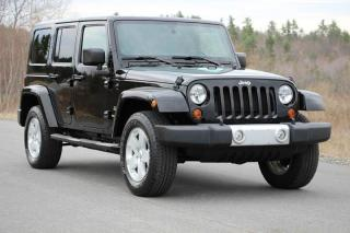 Used 2012 Jeep Wrangler Unlimited Sahara for sale in Toronto, ON
