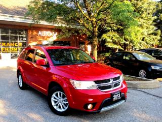 Used 2013 Dodge Journey SXT,V6,7 Seater,One Oner,DVD,CERTIFIED for sale in Concord, ON