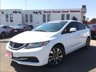 Used 2013 Honda Civic EX - Sunroof - Alloys - New tires for sale in Mississauga, ON
