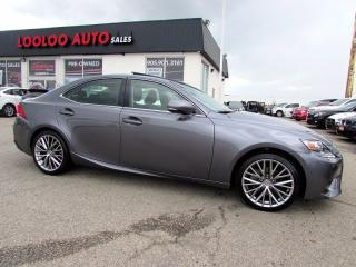 Used 2014 Lexus IS 250 AWD PREMIUM CAMERA BLUETOOTH CERTIFIED for sale in Milton, ON
