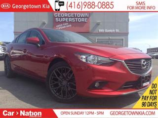 Used 2015 Mazda MAZDA6 GT | NAVI | LEATHER | ROOF | BACK UP CAM | for sale in Georgetown, ON