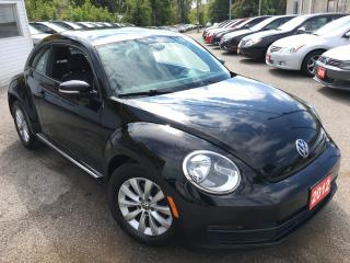 Used 2012 Volkswagen Beetle COMFORTLINE/AUTO/LOADED/ALLOYS/HEATED SEATS for sale in Scarborough, ON