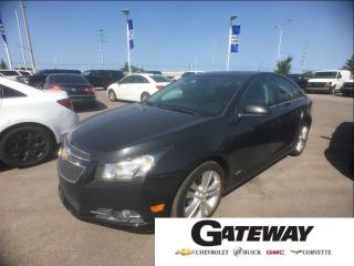 Used 2014 Chevrolet Cruze |RS| 2LT|LEATHER|BLUETOOTH|SUNROOF|SPORTY| for sale in Brampton, ON