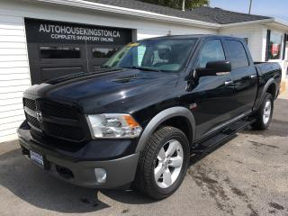 Used 2013 RAM 1500 OUTDOORSMAN for sale in Kingston, ON