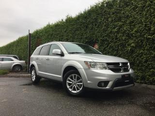 Used 2014 Dodge Journey SXT + 7 PASSENGER + BLUETOOTH + ALLOYS + NO EXTRA DEALER FEES for sale in Surrey, BC