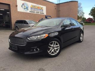 Used 2013 Ford Fusion SE - LEATHER - MICROSOFT SYNC - ALLOYS for sale in Aurora, ON
