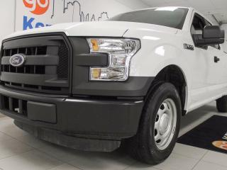 Used 2016 Ford F-150 XL- White 6-seater for all your needs for sale in Edmonton, AB