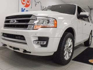 Used 2015 Ford Expedition Limited 3.5L V6 ecoboost with NAV, sunroof, heated/cooled leather power seats, power liftgate and keyless entry for sale in Edmonton, AB