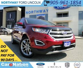 Used 2015 Ford Edge Titanium | NAV | REAR CAM | LEATHER | PANO ROOF | for sale in Brantford, ON