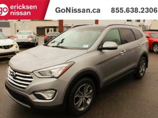 Used 2014 Hyundai Santa Fe XL Limited, 6 Passenger, Leather,Roof, NAV,Bluetooth for sale in Edmonton, AB