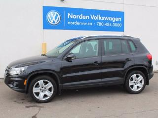 Used 2014 Volkswagen Tiguan COMFORTLINE for sale in Edmonton, AB